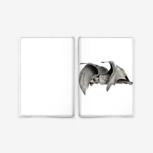 Обложка для паспорта «летучая мышь»