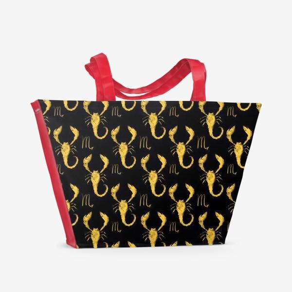 Пляжная сумка «Подарок Скорпиону»