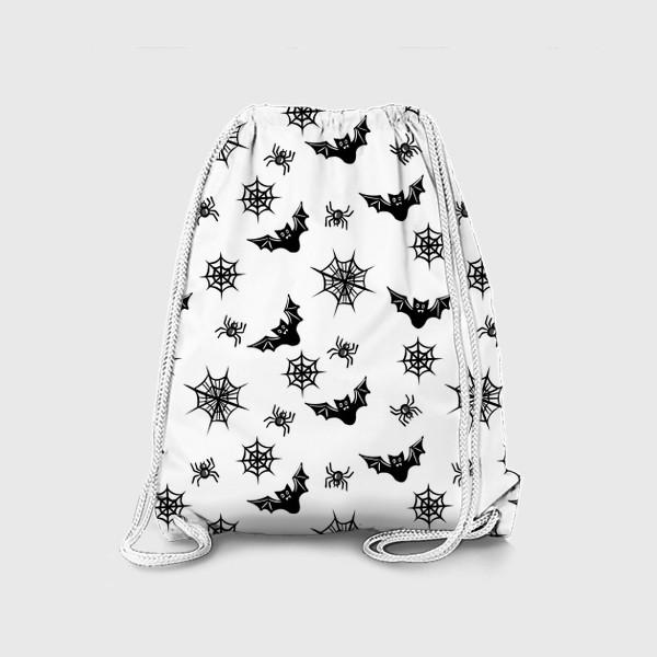 Рюкзак «летучие мыши и пауки и паутина»