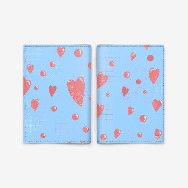 Обложка для паспорта «Паттерн сердца »