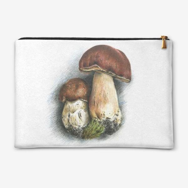 Косметичка «Белый гриб»