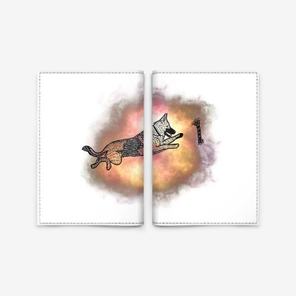 Обложка для паспорта «Овчарка»