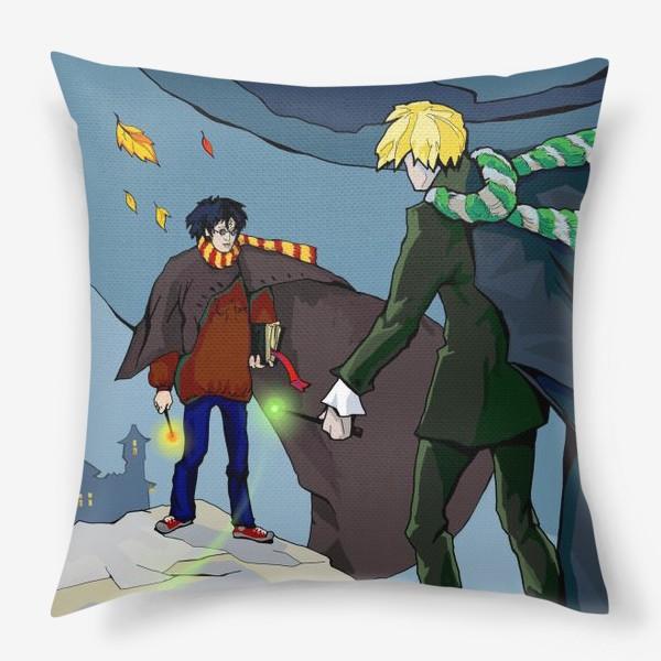 Подушка «Осень в Хогвартсе»