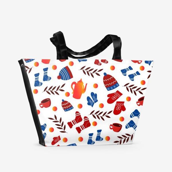 Пляжная сумка «Теплая зима»