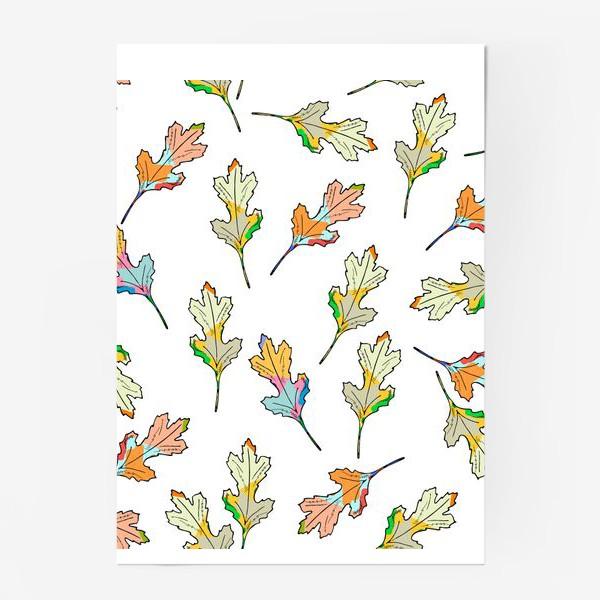 Постер «листья»