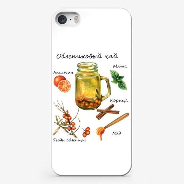 Чехол iPhone «Рецепт облепихового чая»