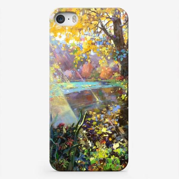 Чехол iPhone «Луч солнца»