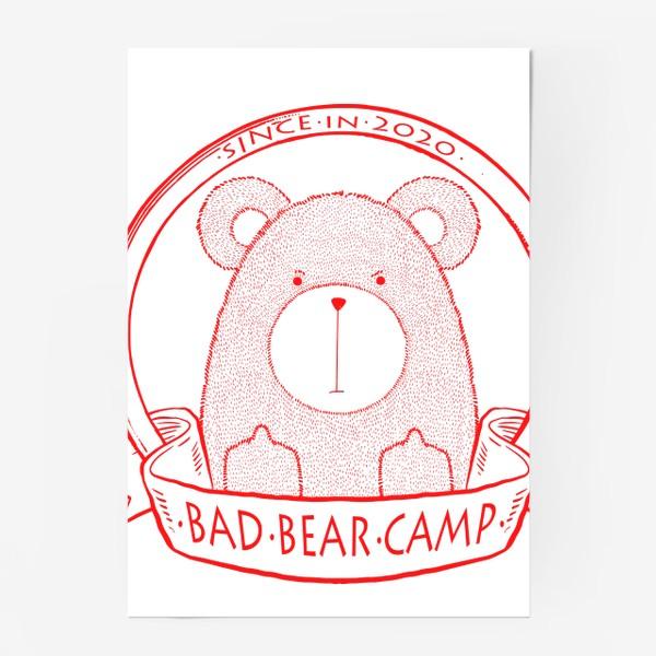 Постер «Bad Bear Camp»