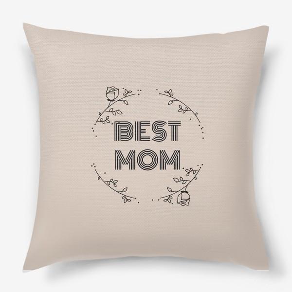 Подушка «Best mom»