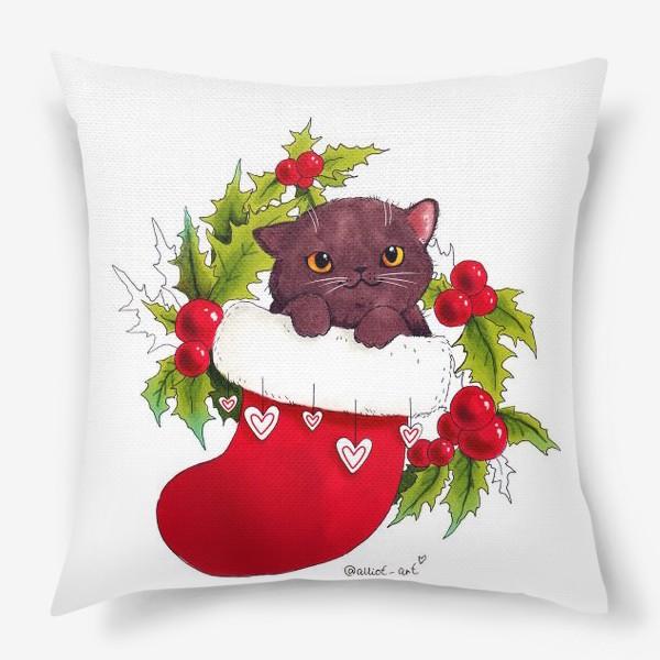Подушка «Новогодний привет»