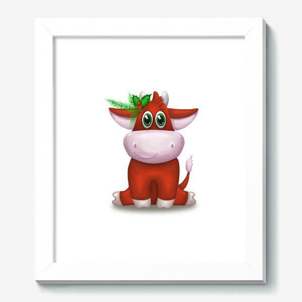 Картина «Красный бык»