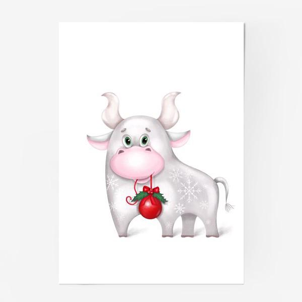 Постер «Металлический бык»