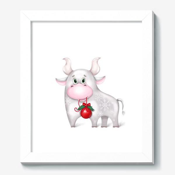 Картина «Металлический бык»