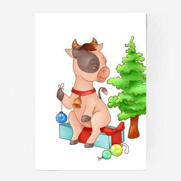Постер «Милый бычок»