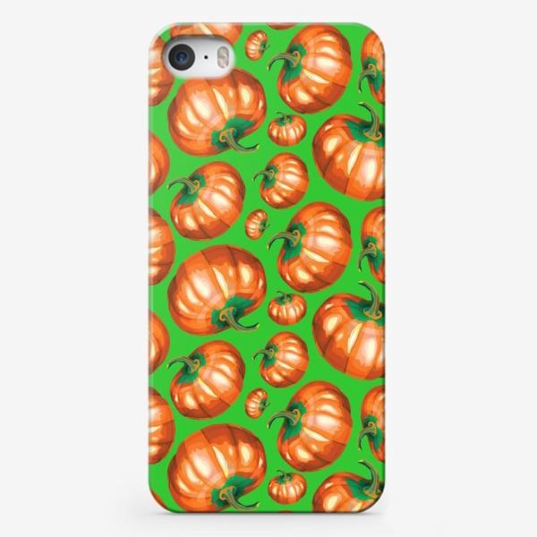 Чехол iPhone «Провожаем осень»