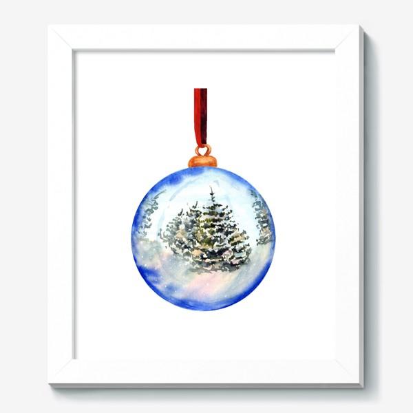 Картина «Новогодний шар »