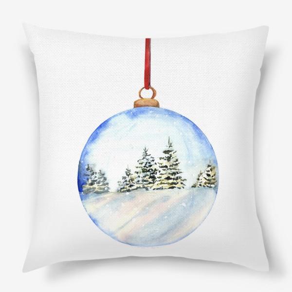 Подушка «Новогодний шар »