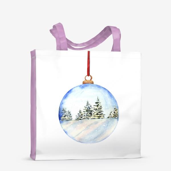 Сумка-шоппер «Новогодний шар »