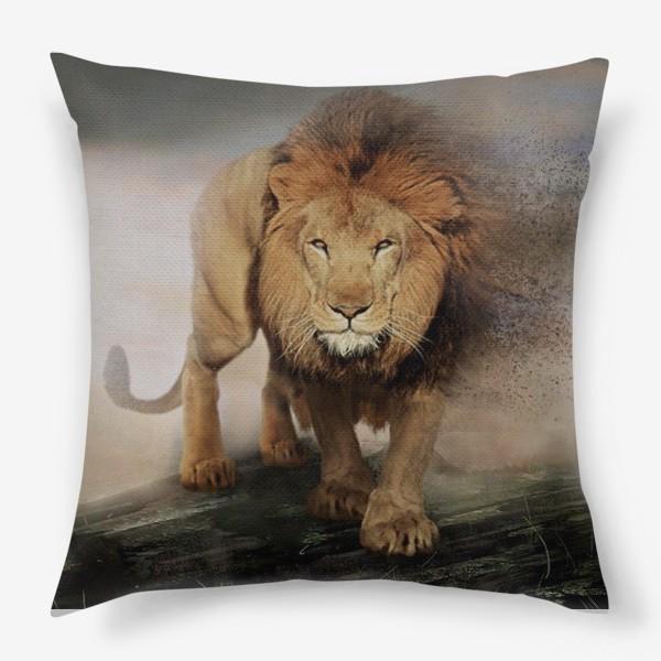 Подушка «Лев/Lion»