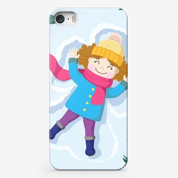 Чехол iPhone «Снежный ангел»
