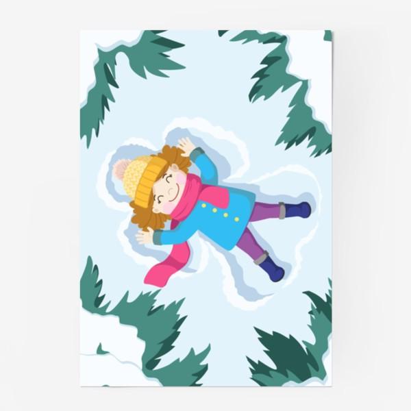 Постер «Снежный ангел»