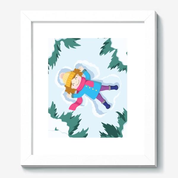 Картина «Снежный ангел»