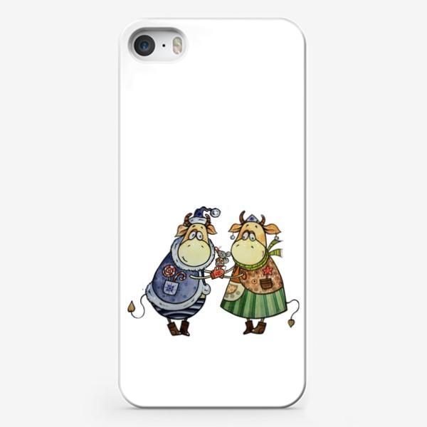 Чехол iPhone «С новым годом!»