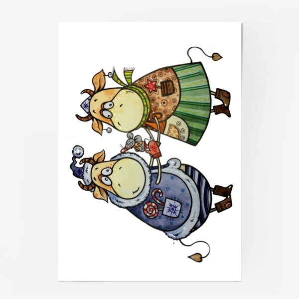 Постер «С новым годом!»