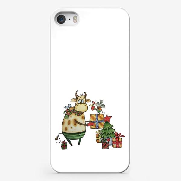 Чехол iPhone «Новый год!»
