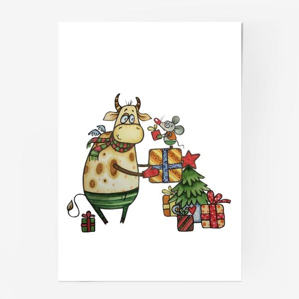 Постер «Новый год!»