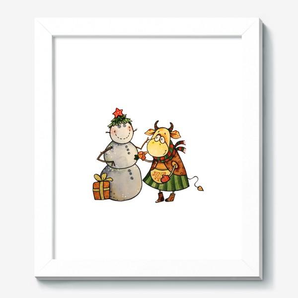 Картина «Новогодние забавы»