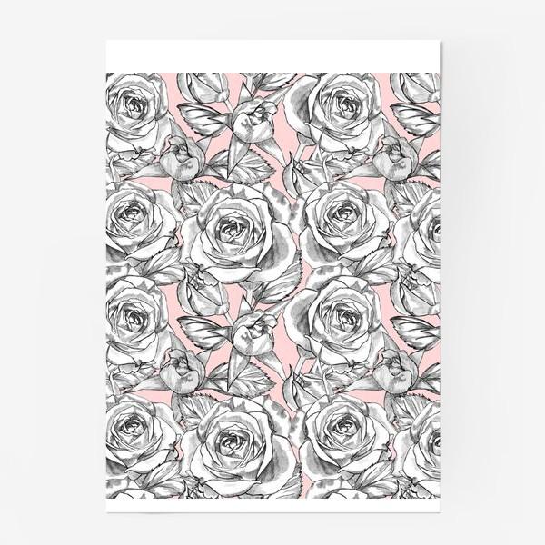Постер «Танец серых роз»