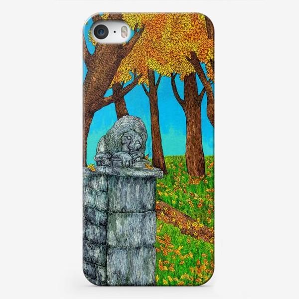 Чехол iPhone «Осень в парке»