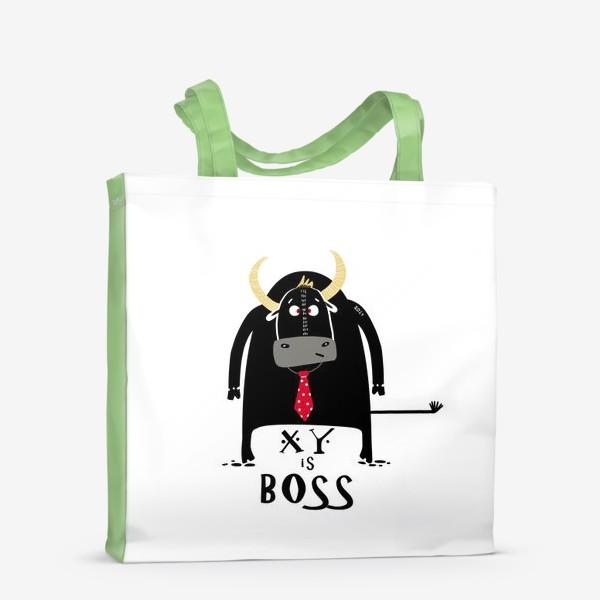 Сумка-шоппер «Кто тут Босс. Год быка»