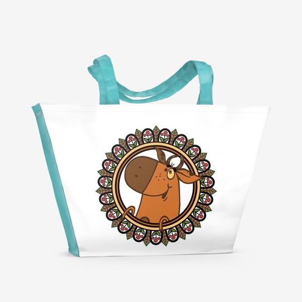 Пляжная сумка «Новогодние настроение»