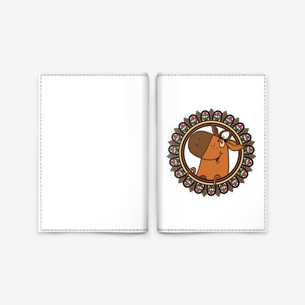 Обложка для паспорта «Новогодние настроение»