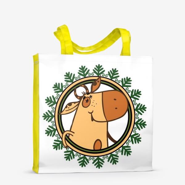 Сумка-шоппер «Год БЫКА»