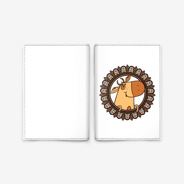 Обложка для паспорта «С наступающим!»
