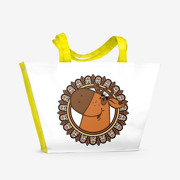 Пляжная сумка «С новым годом!»