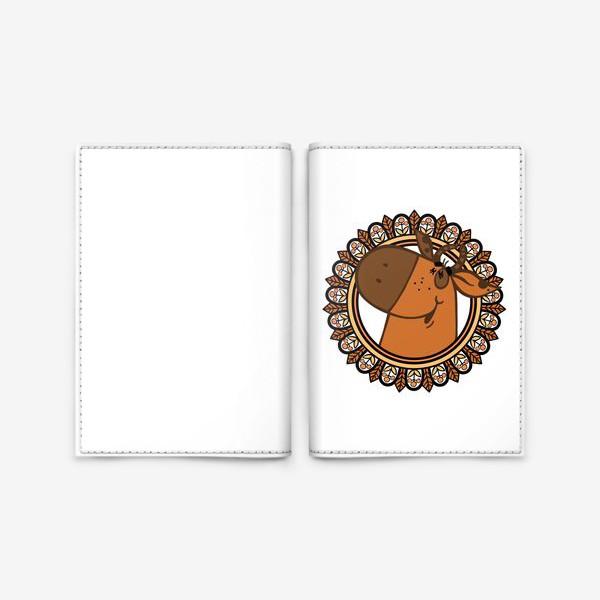 Обложка для паспорта «С новым годом!»