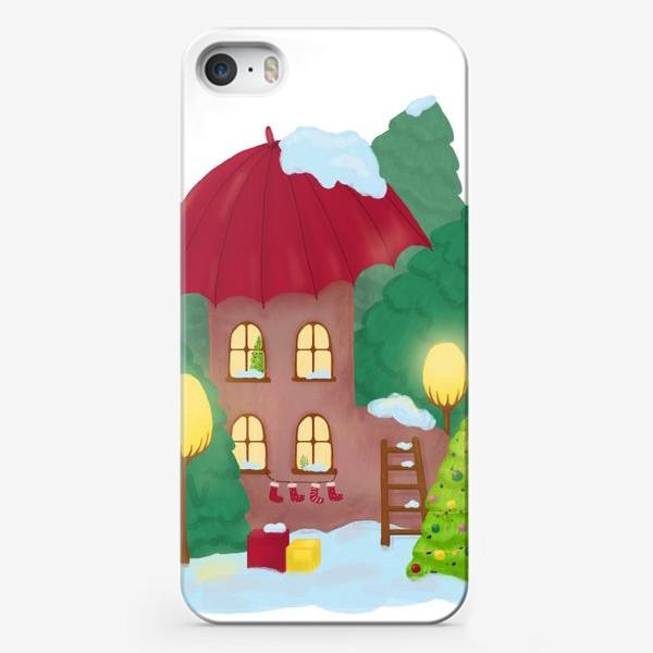 Чехол iPhone «Сказочный домик»