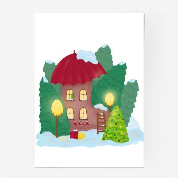 Постер «Сказочный домик»