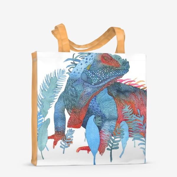 Сумка-шоппер «Ящер»