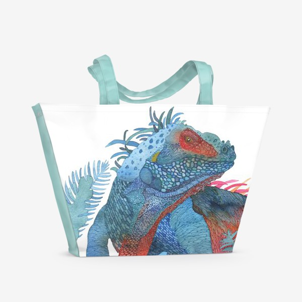 Пляжная сумка «Ящер»