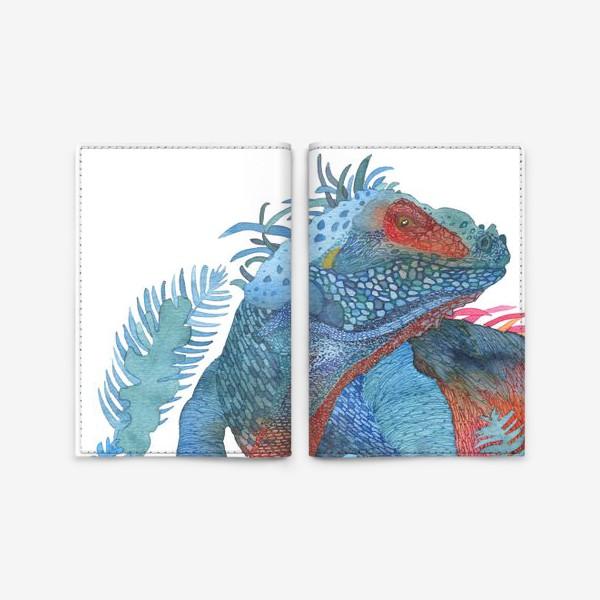 Обложка для паспорта «Ящер»
