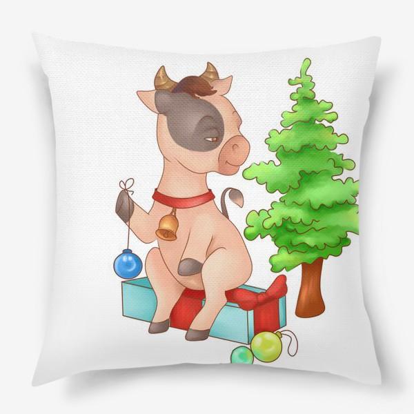 Подушка «Милый бычок»