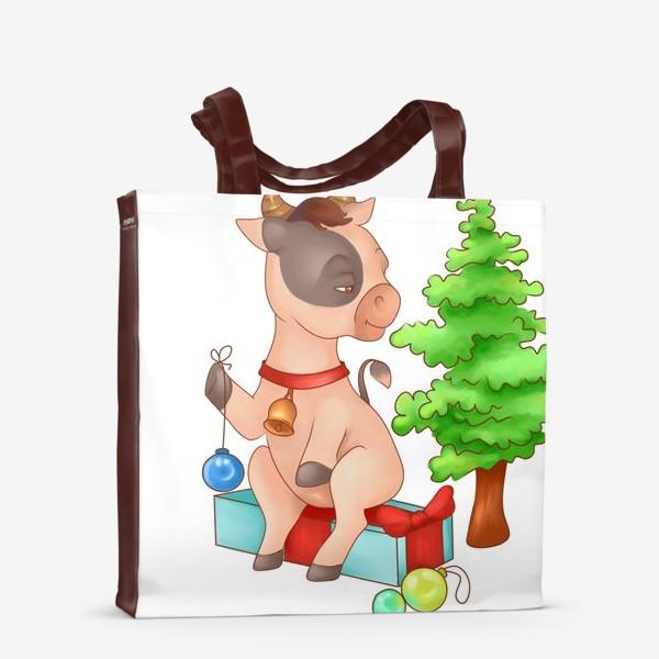 Сумка-шоппер «Милый бычок»
