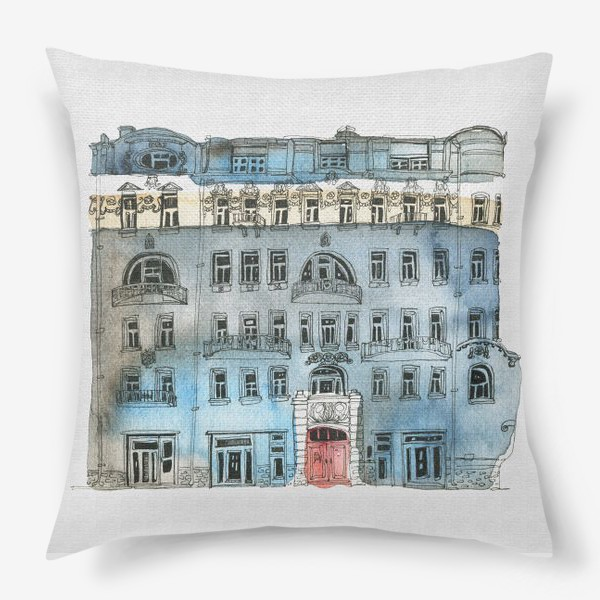 Подушка «Архитектура»