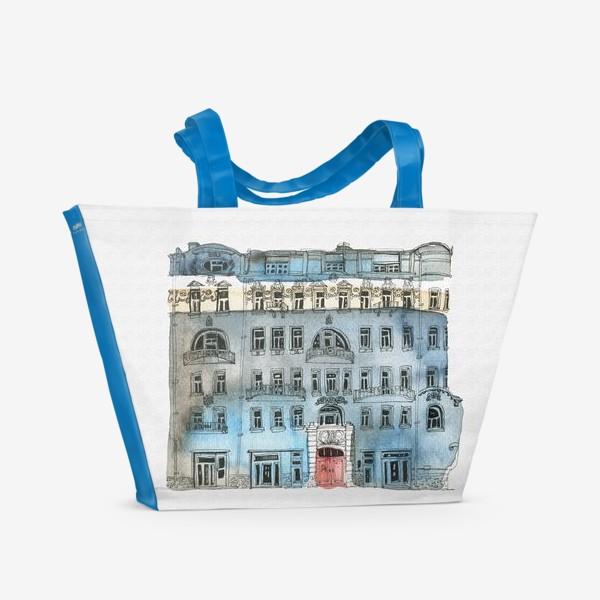 Пляжная сумка «Архитектура»