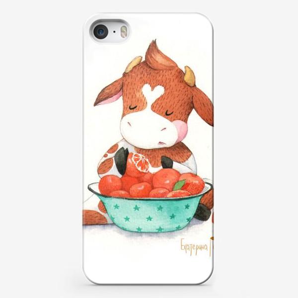 Чехол iPhone «мандариновый рай»